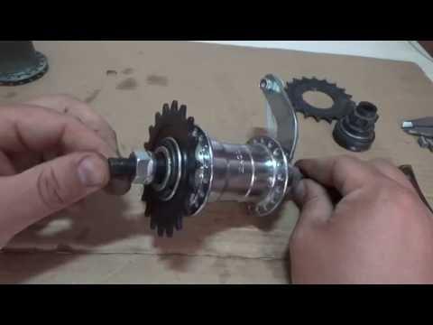 Как устранить прокрутки заднего колеса дорожного велосипеда ХВЗ, ММВЗ