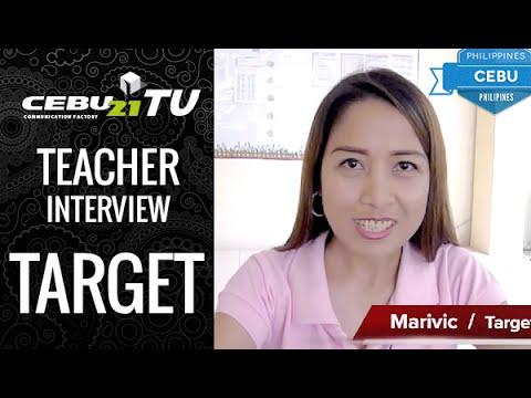 セブ島 TARGET校の講師インタビュー by フィリピン留学CEBU21