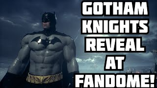 Batman Gotham Knights WILL Appear At DC Fandome!!
