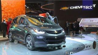 """Chevrolet Bolt EV назван """"автомобилем года"""" в Северной Америке"""