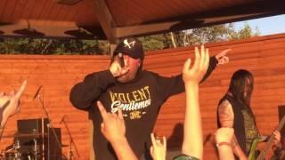 36 CRAZYFISTS -OLD GOLD- NEW SONG- ROCK ON THE RIVER SOLDOTNA, ALASKA (7/22/17)