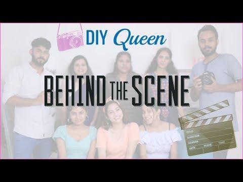 DIY Queen's BEHIND The SCENES...   #Fun #ShrutiArjunAnand #Anaysa #DIYQueen