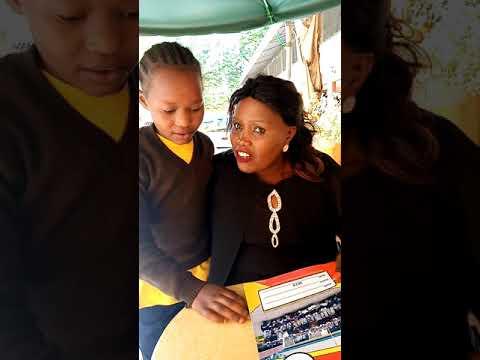 Our girl lucy amefunga shule we thank God fr his protection