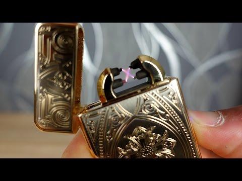 Goldenes USB Feuerzeug im Test