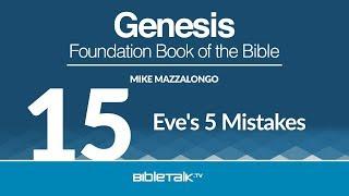 Eve's 5 Mistakes