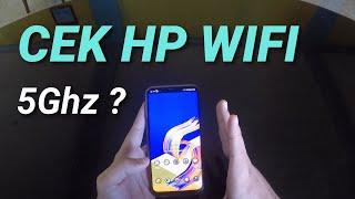 Cara Cek Wifi hp kalian 5Ghz gak sih?