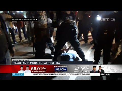 Tawuran Pemuda di Pekanbaru, Empat Orang Terluka