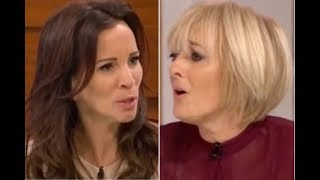 Loose Women cast Jane Moore in spat with Andrea McLean and Gloria Hunniford