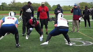 Dominic Collado Highlights #405 Rivals Camp Series Chicago 2018