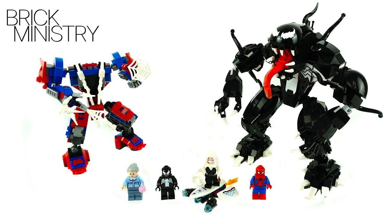 LEGO Spider Man 76115 ● SPIDER MAN MECH VS VENOM MECH [Speed Build Review]