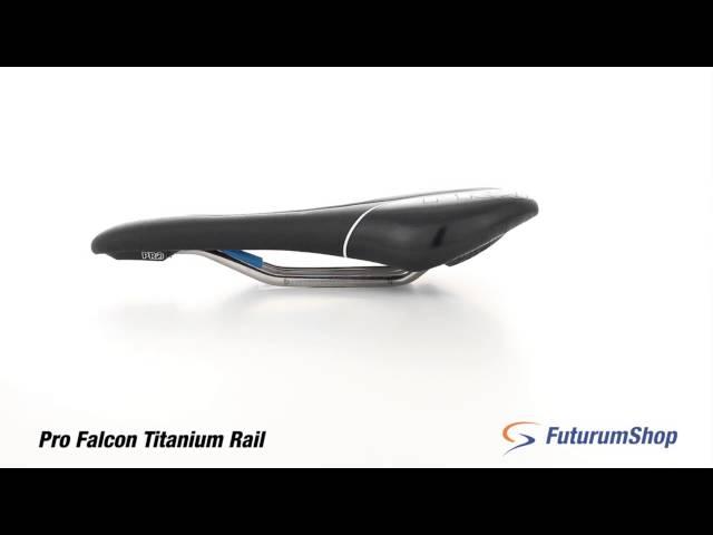 Видео Седло Pro Falcon Stainless 142mm черное