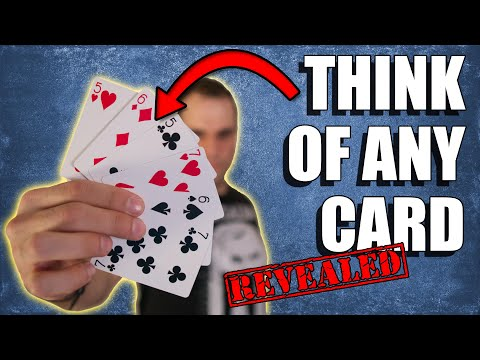 Most VIRAL/FAMOUS Mind-Reading Card Trick REVEALED! Mentalism Tutorial. LEARN NOW!