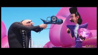 Gru vs Balthazar  Bratt scene  Despicable me 3 (2017) Hd