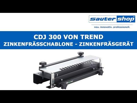 CDJ 300 Zinkenfrässchablone   Zinkenfräsgerät von Trend   sautershop