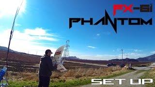 Zeta FX-61 Phantom wing full FPV setup for over 1 hour flying time