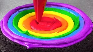 Amazing Rainbow Cakes: Most Satisfying Cake Decorating Compilation Tutorials