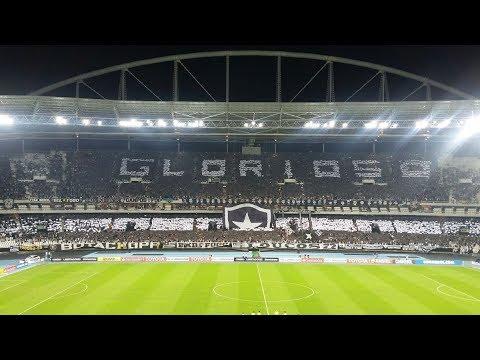 """""""Mosaico e Torcida do Botafogo"""" Barra: Loucos pelo Botafogo • Club: Botafogo"""