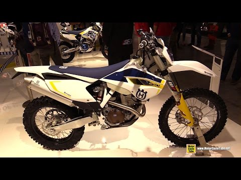 2015 Husqvarna FE 250 - Walkaround - 2014 EICMA Milan Motorcycle Exhibition