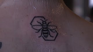 The power of the bee tattoo one year since Manchester Arena attack | ITV News