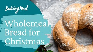 How to make a wholemeal wreath by allinson