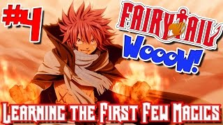 Fairy Tail: WooW! (Minecraft Public Server) - Episode 4   LEARNING THE FIRST FEW MAGICS!