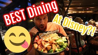 Best Dining At Walt Disney World?! Ohana Dinner Review!