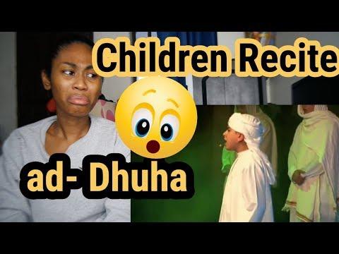Children Recite Surah ad-Dhuha   Reaction