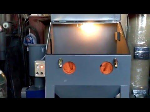 Идея для бизнеса (Пескоструйная камера (sandblasting cabinet))