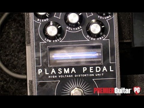 SNAMM '18 – Gamechanger Audio Plasma Pedal Demo