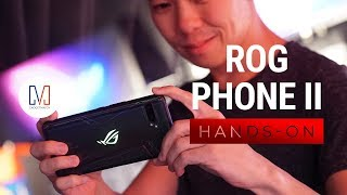 Asus ROG Phone II Hands-on: Console replacement?