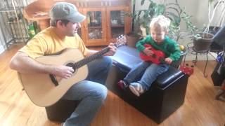 Eric and Isaac play Ripple and Lullaby for Wyatt