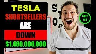 $1,480,000,000 Lost Betting Against Tesla Stock & Elon Musk
