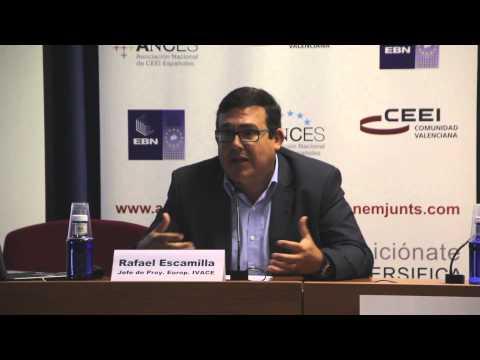 Rafael Escamilla IVACE. Foro de Financiación a la Innovación