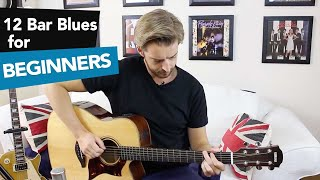 "12 Bar Blues for Beginners Guitar - Eric Clapton Style ""Before You Accuse Me"""