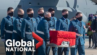 Global National: May 24, 2020 | Capt. Jenn Casey honoured with emotional homecoming in Halifax
