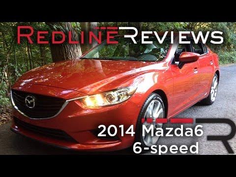 Redline Review: 2014 Mazda6 6-speed