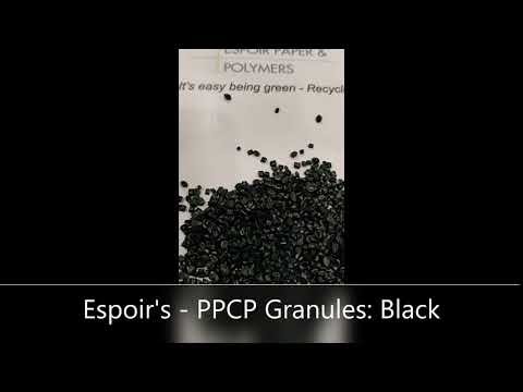 PPCP Black Granules
