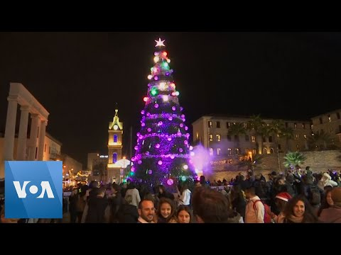 Israel's City of Jaffa Switches on Christmas Tree