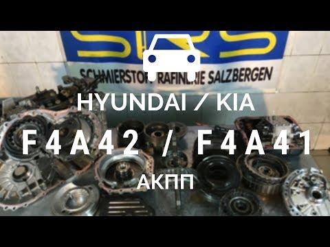 4-ступ. АКПП Mitsubishi/Hyundai/Kia F4A42, F4A41, F5A51
