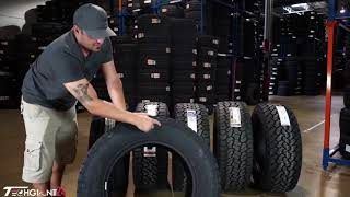 Best all terrain tire review side by side comparison