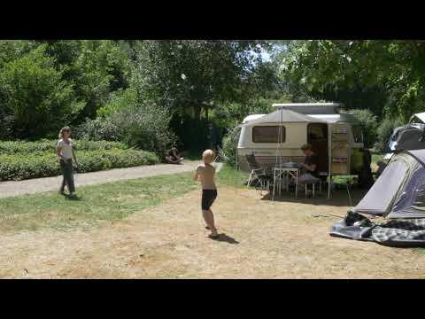 Vidéo camping drone,