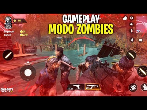 ¡MI PRIMER GAMEPLAY en el MODO ZOMBIES de COD MOBILE!  CALL OF DUTY MOBILE