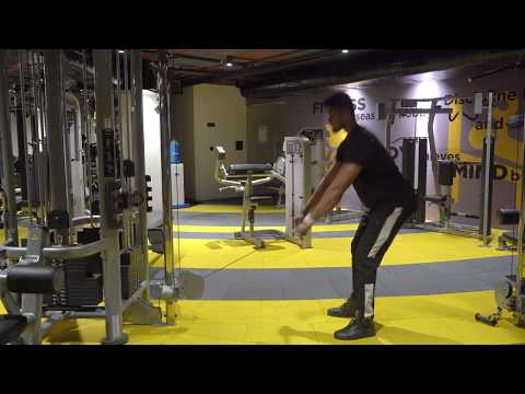 Standing cable hip extensors