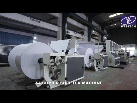A4 Size Paper Sheet Cutting Machine