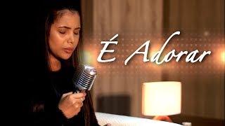 É Adorar   Amanda Wanessa (Voz E Piano)