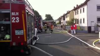 preview picture of video 'Wohnungsbrand in Neulußheim'