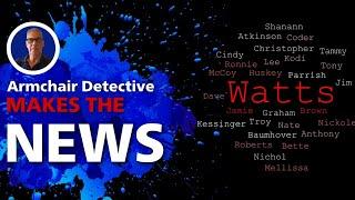 Chris Watts tells Armchair Detective he was framed.