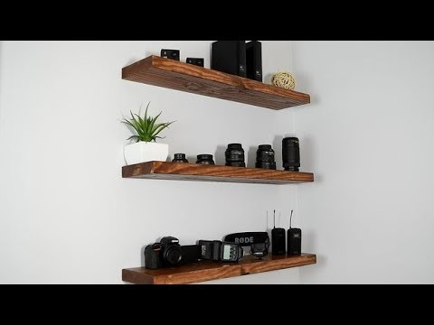 34 Floating Shelves Ideas - Wood Shelves Design Mp3