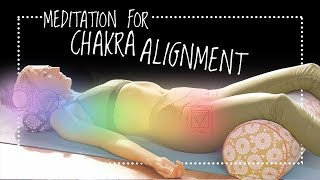 The 7 Chakras Alignment Guided Meditation for Beginners | Chakra Balancing and Healing (30-min)