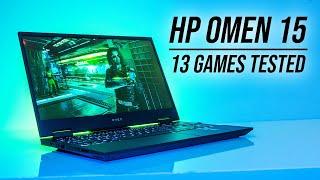 HP Omen 15 (Ryzen 7 5800H/RTX 3070) Tested In Games!